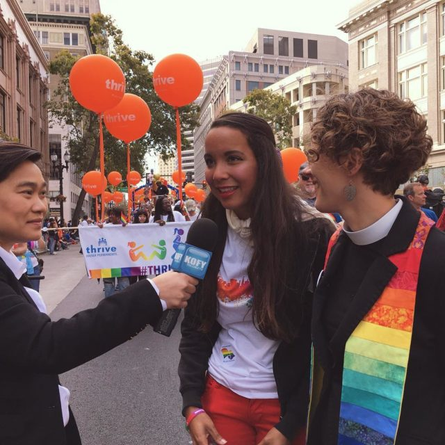 Throwback to Oakland Pride  The MontclairPresbyterianChurch is a communityhellip