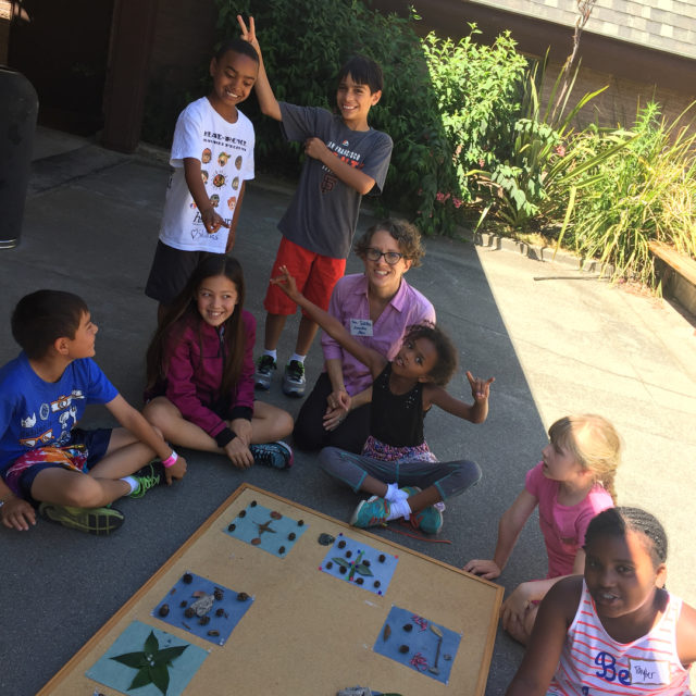 On Sunday our Godly Play classroom went outside to makehellip