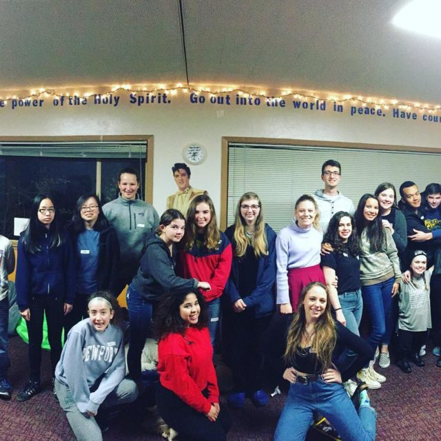 Eleven years of youthgroup including our alumni